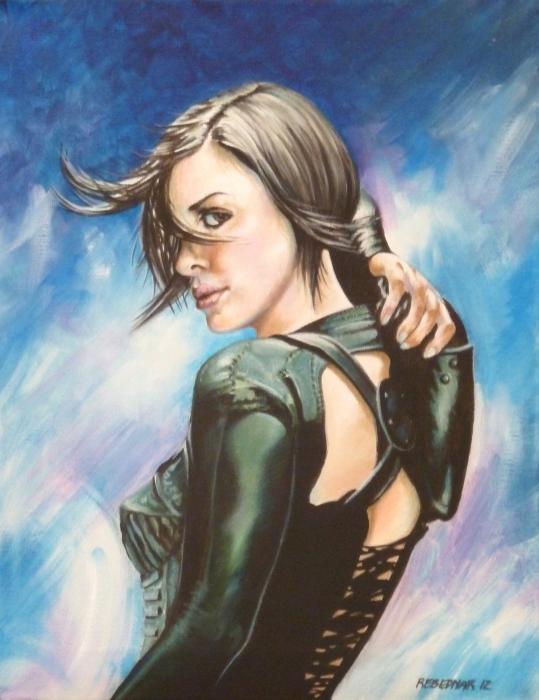 Charlize Theron par Vernicio